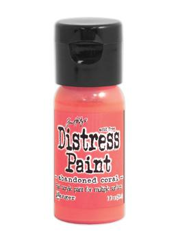 Tim Holtz Distress® Flip Top Paint Abandoned Coral, 1oz Paint Tim Holtz