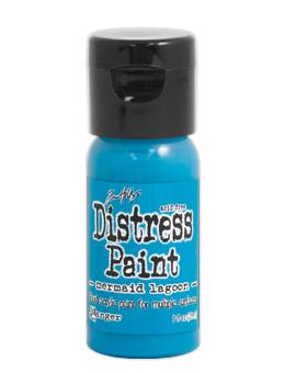 Tim Holtz Distress® Flip Top Paint Mermaid Lagoon, 1oz Paint Tim Holtz