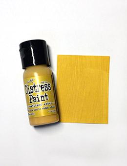 Tim Holtz Distress® Flip Top Paint Fossilized Amber, 1oz Paint Tim Holtz