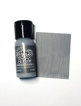Tim Holtz Distress® Flip Top Paint Hickory Smoke, 1oz Paint Tim Holtz