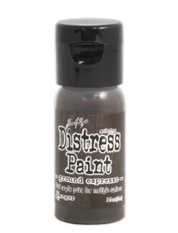 Tim Holtz Distress® Flip Top Paint Ground Espresso, 1oz Paint Tim Holtz