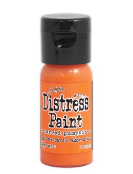 Tim Holtz Distress® Flip Top Paint Carved Pumpkin, 1oz Paint Tim Holtz