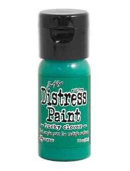 Tim Holtz Distress® Flip Top Paint Lucky Clover, 1oz Paint Tim Holtz