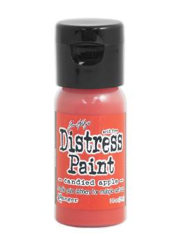 Tim Holtz Distress® Flip Top Paint Candied Apple, 1oz Paint Tim Holtz