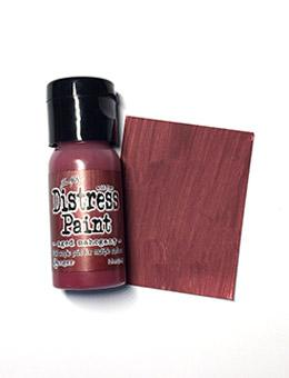 Tim Holtz Distress® Flip Top Paint Aged Mahogany, 1oz Paint Tim Holtz