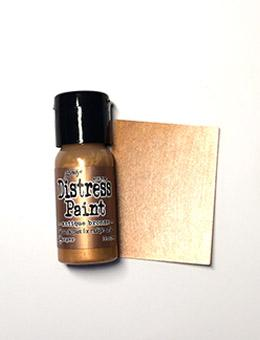 Tim Holtz Distress® Flip Top Paint Antiqued Bronze, 1oz Paint Tim Holtz