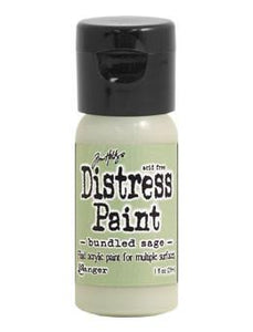 Tim Holtz Distress® Flip Top Paint Bundled Sage, 1oz Paint Tim Holtz