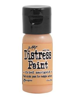 Tim Holtz Distress® Flip Top Paint Dried Marigold, 1oz Paint Tim Holtz