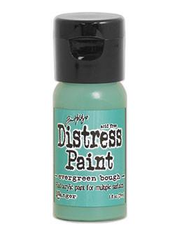 Tim Holtz Distress® Flip Top Paint Evergreen Bough, 1oz Paint Tim Holtz
