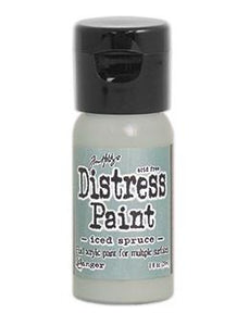 Tim Holtz Distress® Flip Top Paint Iced Spruce, 1oz Paint Tim Holtz