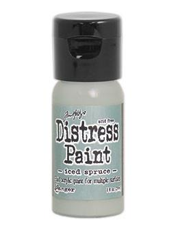 Tim Holtz Distress® Flip Top Paint Iced Spruce, 1oz
