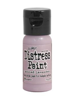 Tim Holtz Distress® Flip Top Paint Milled Lavender, 1oz Paint Tim Holtz