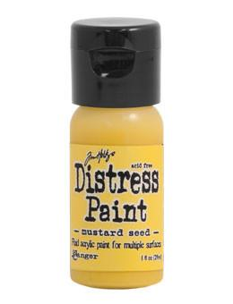 Tim Holtz Distress® Flip Top Paint Mustard Seed, 1oz