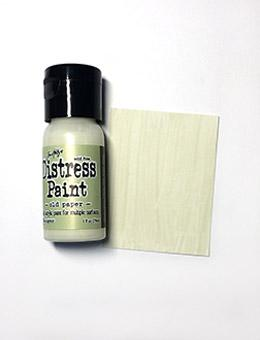 Tim Holtz Distress® Flip Top Paint Old Paper, 1oz Paint Tim Holtz
