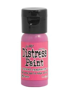 Tim Holtz Distress® Flip Top Paint Picked Raspberry, 1oz Paint Tim Holtz