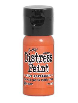 Tim Holtz Distress® Flip Top Paint Ripe Persimmon, 1oz Paint Tim Holtz