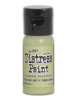 Tim Holtz Distress® Flip Top Paint Shabby Shutters, 1oz Paint Tim Holtz