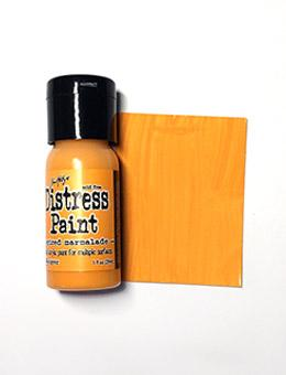 Tim Holtz Distress® Flip Top Paint Spiced Marmalade, 1oz Paint Tim Holtz