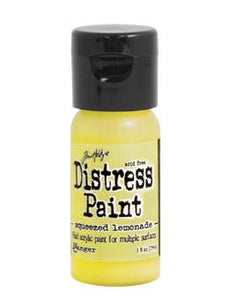 Tim Holtz Distress® Flip Top Paint Squeezed Lemonade, 1oz