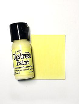Tim Holtz Distress® Flip Top Paint Squeezed Lemonade, 1oz Paint Tim Holtz
