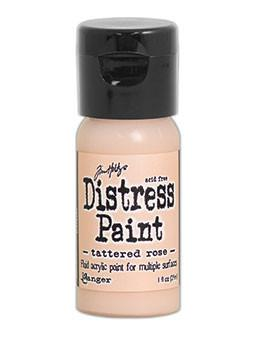 Tim Holtz Distress® Flip Top Paint Tattered Rose, 1oz Paint Tim Holtz