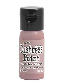 Tim Holtz Distress® Flip Top Paint Victorian Velvet, 1oz Paint Tim Holtz