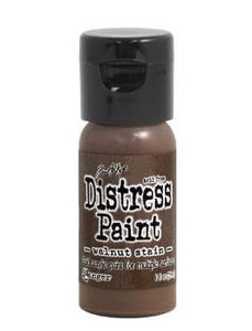 Tim Holtz Distress® Flip Top Paint Walnut Stain, 1oz
