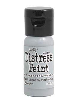 Tim Holtz Distress® Flip Top Paint Weathered Wood, 1oz