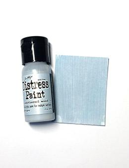 Tim Holtz Distress® Flip Top Paint Weathered Wood, 1oz Paint Tim Holtz
