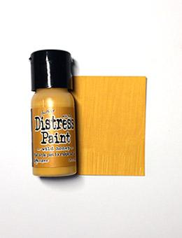 Tim Holtz Distress® Flip Top Paint Wild Honey, 1oz Paint Tim Holtz
