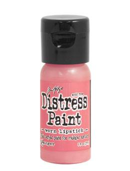Tim Holtz Distress® Flip Top Paint Worn Lipstick, 1oz Paint Tim Holtz