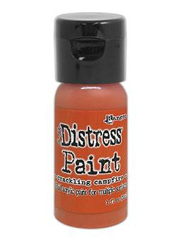 Tim Holtz Distress® Flip Top Paint Crackling Campfire 1oz Paint Distress