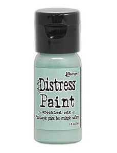 Tim Holtz Distress® Flip Top Paint Speckled Egg 1oz Paint Distress
