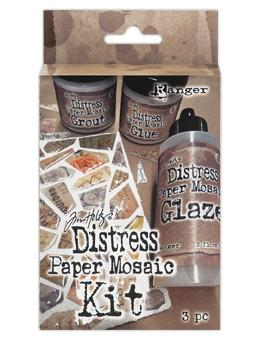 Tim Holtz Distress® Paper Mosaic Kit Technique Kit Tim Holtz