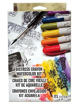 Tim Holtz Distress® Crayon Watercolor Kit