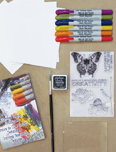 Tim Holtz Distress® Crayon Watercolor Kit Technique Kit Tim Holtz
