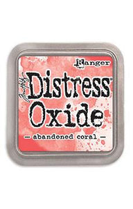 Tim Holtz Distress® Oxide® Ink Pad Abandoned Coral Ink Pad Tim Holtz