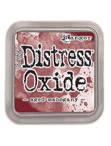 Tim Holtz Distress® Oxide® Ink Pad Aged Mahogany Ink Pad Tim Holtz