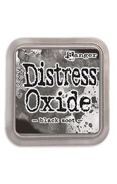Tim Holtz Distress® Oxide® Ink Pad Black Soot Ink Pad Tim Holtz