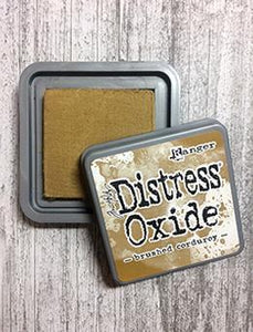 Tim Holtz Distress® Oxide® Ink Pad Brushed Corduroy Ink Pad Tim Holtz