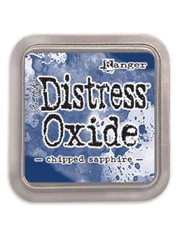NEW! Tim Holtz Distress® Oxide® Ink Pad Chipped Sapphire