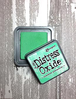 Tim Holtz Distress® Oxide® Ink Pad Cracked Pistachio Ink Pad Tim Holtz