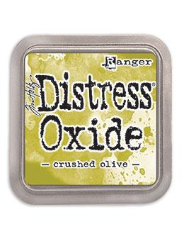 Tim Holtz Distress® Oxide® Ink Pad Crushed Olive Ink Pad Tim Holtz