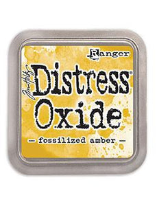 Tim Holtz Distress® Oxide® Ink Pad Fossilized Amber