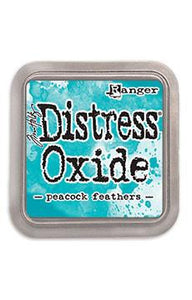 Tim Holtz Distress® Oxide® Ink Pad Peacock Feathers Ink Pad Tim Holtz