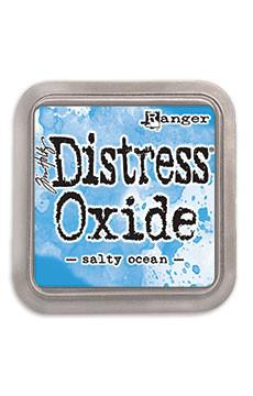 Tim Holtz Distress® Oxide® Ink Pad Salty Ocean Ink Pad Tim Holtz