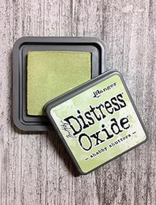Tim Holtz Distress® Oxide® Ink Pad Shabby Shutters Ink Pad Tim Holtz