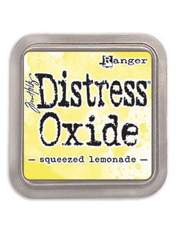 NEW! Tim Holtz Distress® Oxide Ink Pad Squeezed Lemonade