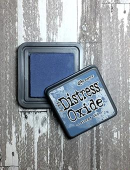 Tim Holtz Distress® Oxide® Ink Pad Stormy Sky Ink Pad Tim Holtz