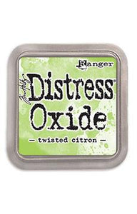 Tim Holtz Distress® Oxide® Ink Pad Twisted Citron Ink Pad Tim Holtz